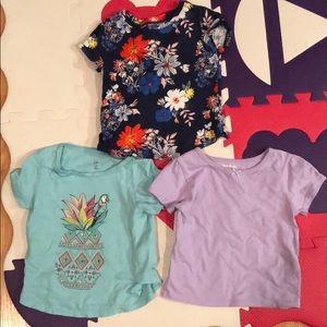 Lof of 3 like new t shirts